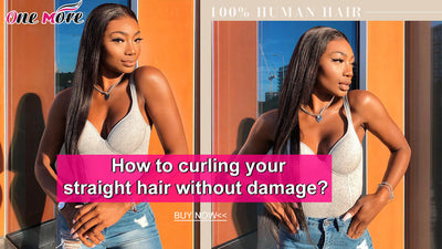 How to curling your straight hair without damage?