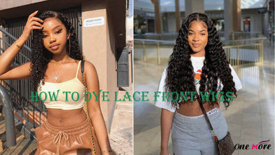 How to Dye Lace Front Wigs