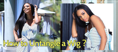 How to Untangle a Wig