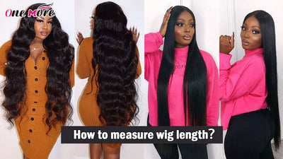 How to Measure Wig Length Correctly!