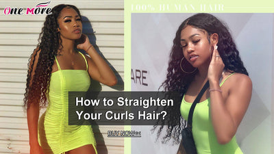 How to Straighten Your Curls Hair?