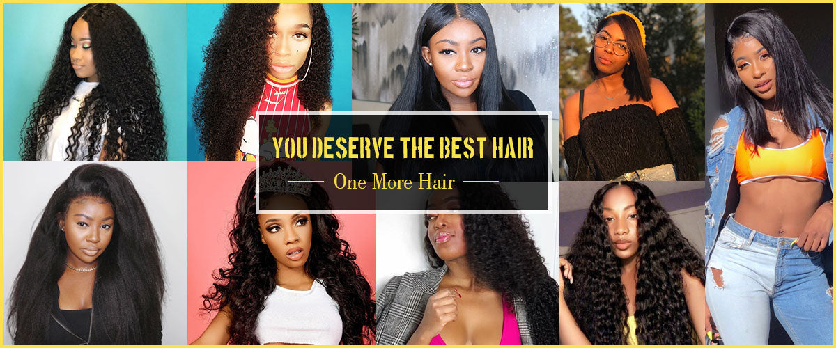 One More Peruvian Straight Hair 3 Bundles with 4*4 Lace Closure