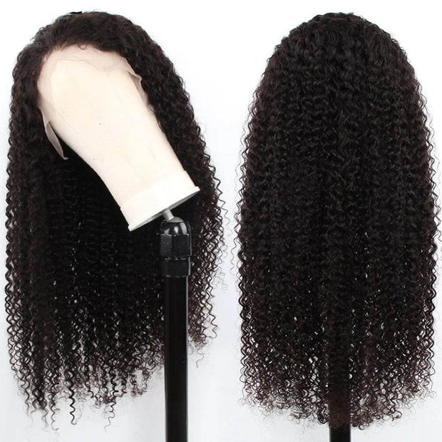 360 Lace Frontal Wigs For Black Women Curly Hair Pre Plucked 360 Lace Wig