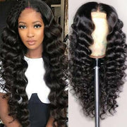 250% Density Lace Wigs Loose Wave 13*4 Lace Front Human Hair Wigs