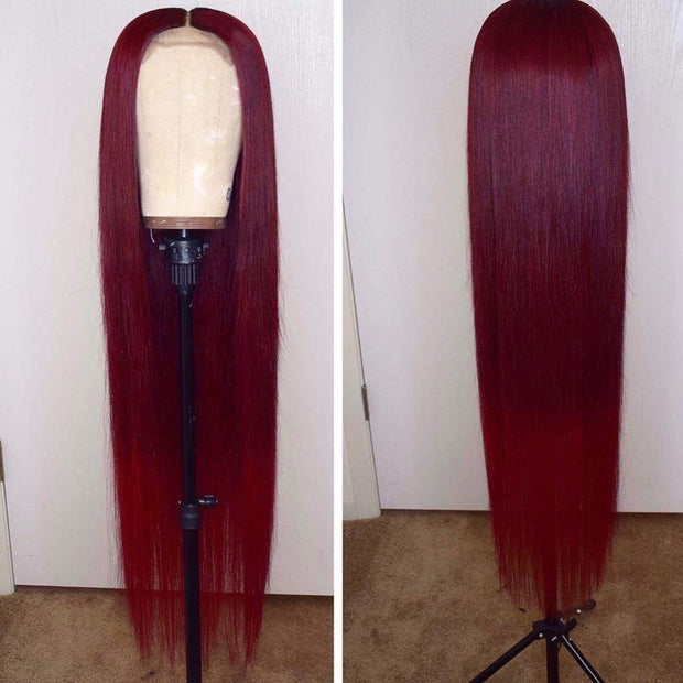 Colored Human Hair Wigs