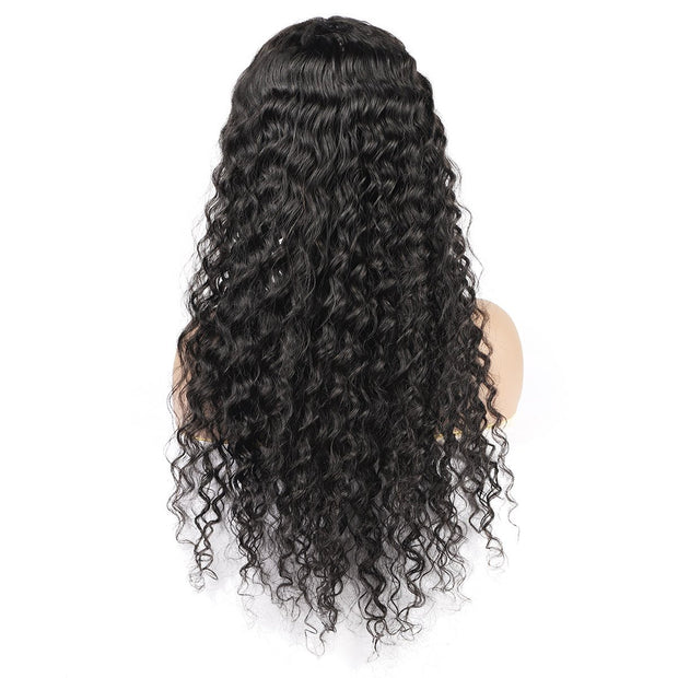 10A Grade One More Deep Wave Wig 13*4 Lace Front Human Hair Wigs