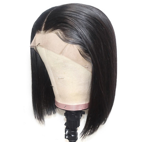 Short Hairstyle 13*4 Lace front straight Bob Wig OneMore