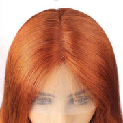 human hair colored wig