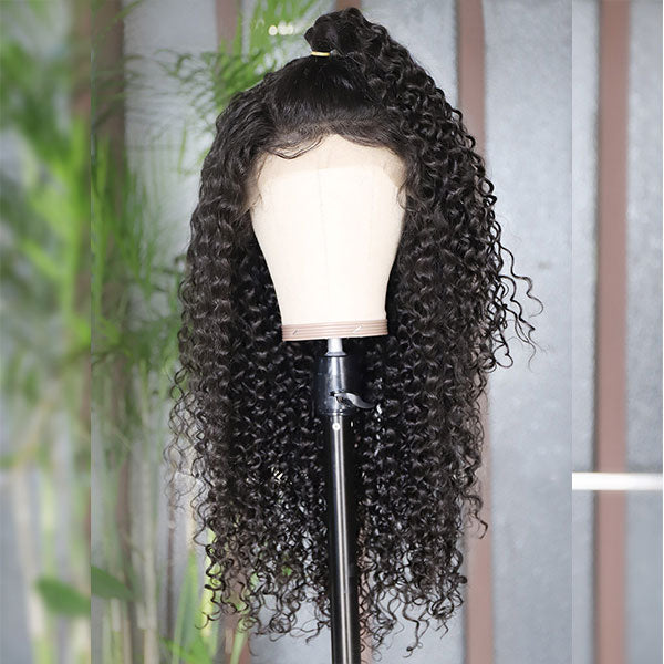 Curly Hair Wig 4*4 Lace Front Wig Human Hair Wigs One More Hair
