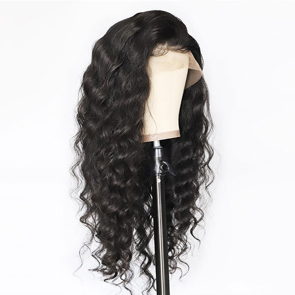 Loose Deep Wave 13*4 Lace Front Wigs With Baby Hair Human Hair Wigs