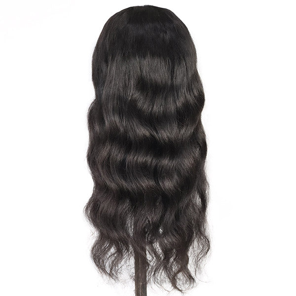 Body Wave Hair 4*4 Lace Closure Human Hair Wigs One More Hair
