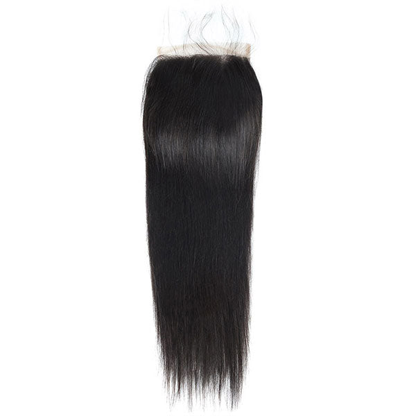 One More Hair Straight Hair 3 Bundles With 5x5 Lace Closure - OneMoreHair