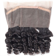 10A Virgin Remy Indian Loose Wave Hair 3 Bundles with 360 Lace Frontal