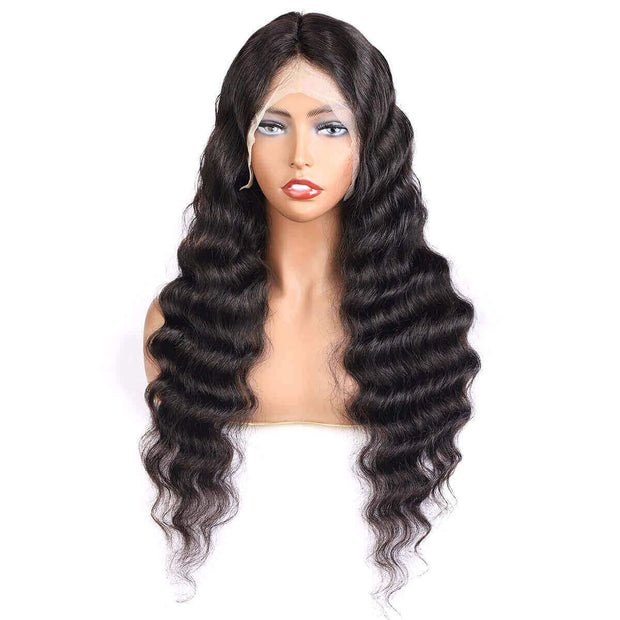 Loose Deep 13*6 Lace Frontal Wig 10A Grade Cheap Lace Front Wig - OneMoreHair