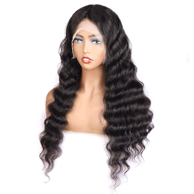 Loose Deep 13x6 Lace Frontal Wig 10A Grade Cheap Lace Front Wigs - OneMoreHair