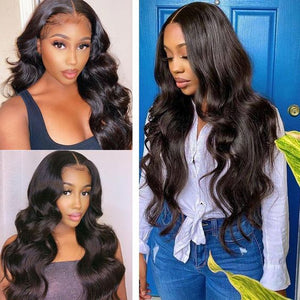 One More Hair 10A Brazilian Body Wave 3 Bundles Human Hair Weave Natural Color - OneMoreHair