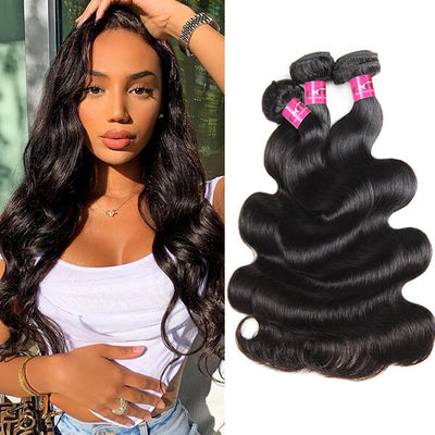 Body Wave 3 Bundles Human Hair Weave