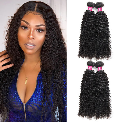 Remy Peruvian Curly Hair 4 Bundles