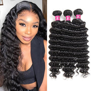 Virgin Brazilian Deep Wave Hair