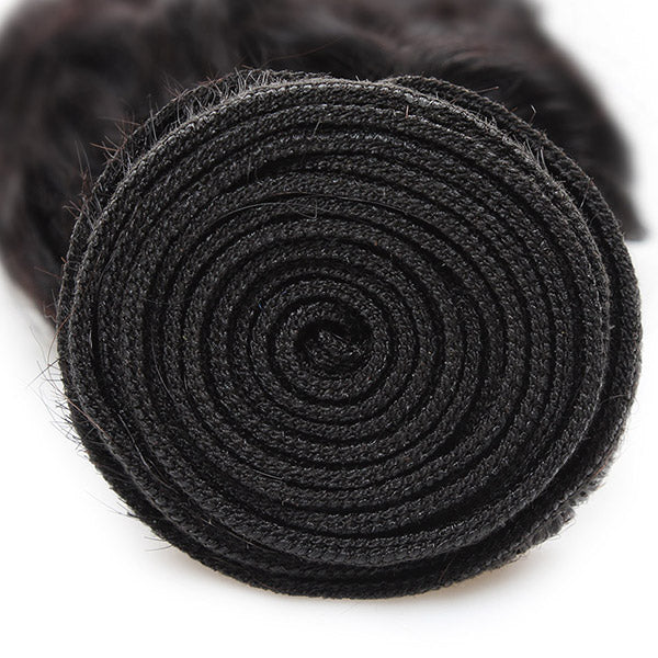 Deep Wave Hair 1 Bundle Unprocessed 10A Grade Virgin Human Hair Weave - OneMoreHair