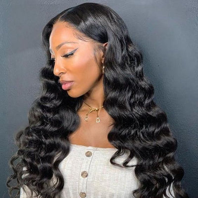 loose wave human hair wig