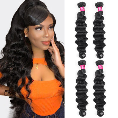 Loose Deep Wave Hair 4 Bundles