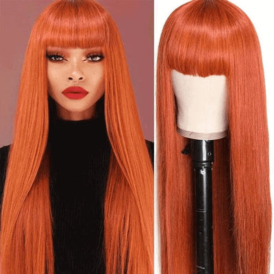 ginger color wig