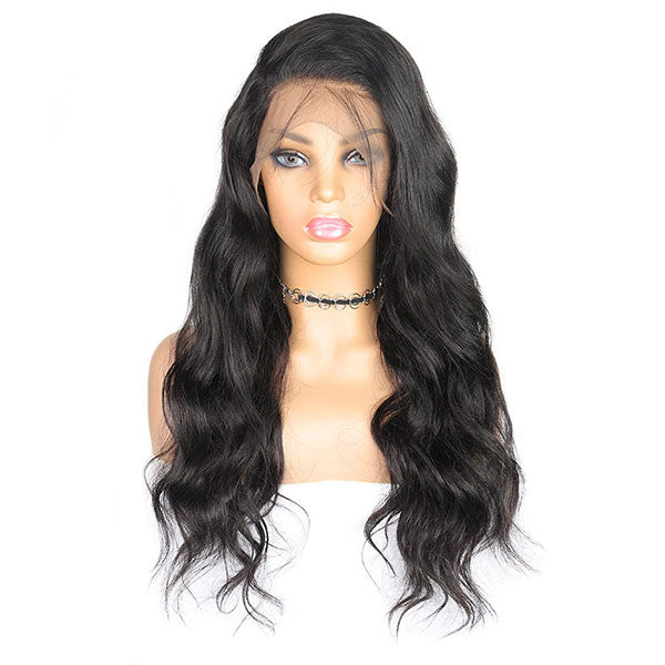 Pre-Plucked 360 Lace Front Wig 10A Grade Body Wave Wigs For Sale