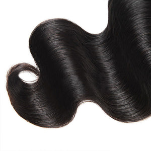 Body Wave Hair 1 Bundle Unprocessed 10A Grade Virgin Human Hair Weave - OneMoreHair