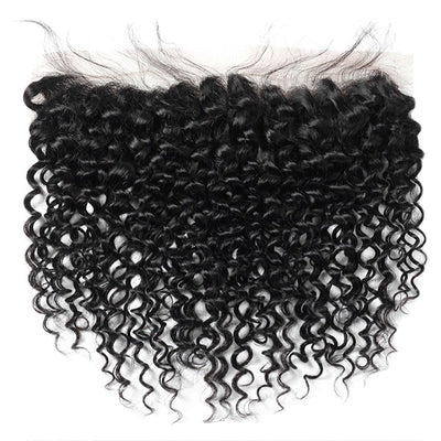 Virgin Brazilian Curly Hair 13*4 Lace Frontal Closure