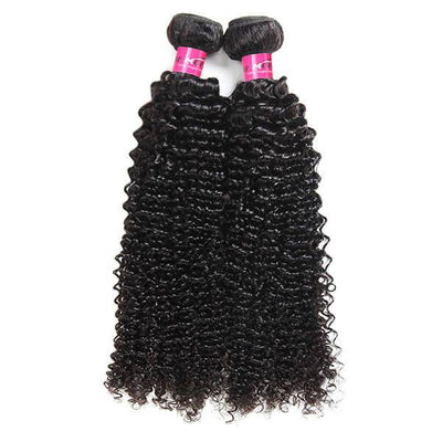 One More 10A Brazilian Hair Curly Hair 2 Bundles with 360 Lace Frontal Deals - OneMoreHair