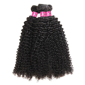 100% Brazilian Curly Hair 3 Bundles 10A Grade Virgin Human Hair Weave One More - OneMoreHair