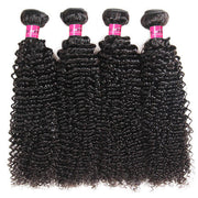 Curly Human Hair Weave 4 Bundles