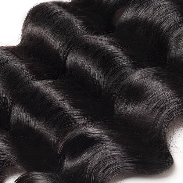 One More Loose Deep Wave Hair 3 Bundles Virgin Brazilian Human Hair - OneMoreHair