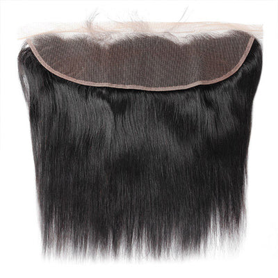 Virgin Brazilian Straight Hair 13*4 Lace Frontal Closure