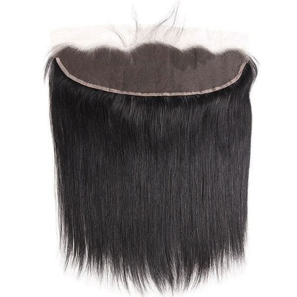 Virgin Brazilian Straight Hair 3 Bundles with 13*4 Lace Frontal One More Hair