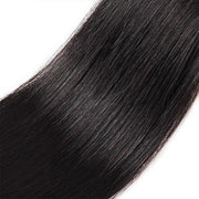 100% Virgin Indian Straight Hair 3 Bundles Human Hair Weave Extensions