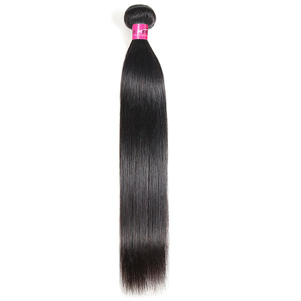 Straight Hair One Bundle Unprocessed 10A Grade Virgin Human Hair Weave