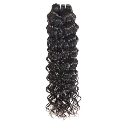 Water Wave 1 Bundle Unprocessed 10A Grade Virgin Human Hair Weave