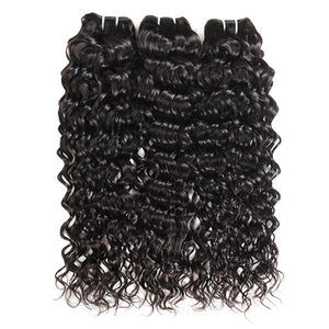 10A Grade Virgin Peruvian Water Wave Hair 3 Bundles One More Hair - OneMoreHair