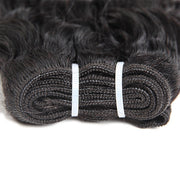 100% Virgin Brazilian Water Wave Hair 3 Bundles with 13*4 Lace Frontal - OneMoreHair