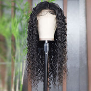 Water Wave 13*4 Lace Front Wig 150% /180%/200% Density Human Hair Wigs - OneMoreHair