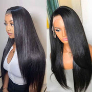 New Arrival Straight Hair 3 Bundles With Transparent 4*4 Lace Closure - OneMoreHair