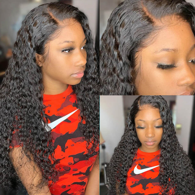 Water Wave 13*4 Lace Front Wig