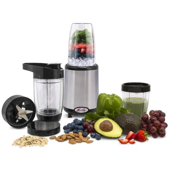 Fusion Xcelerator 1000W Food Emulsifier and Personal Blender Set (14-Piece)