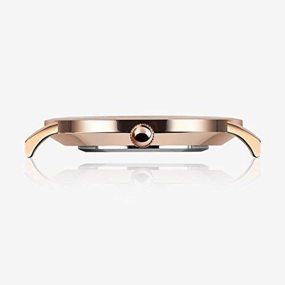 07e7009852 Daily Steals-Daniel Wellington Inspired Watch with 18K Rose Gold  Plate-Watches-