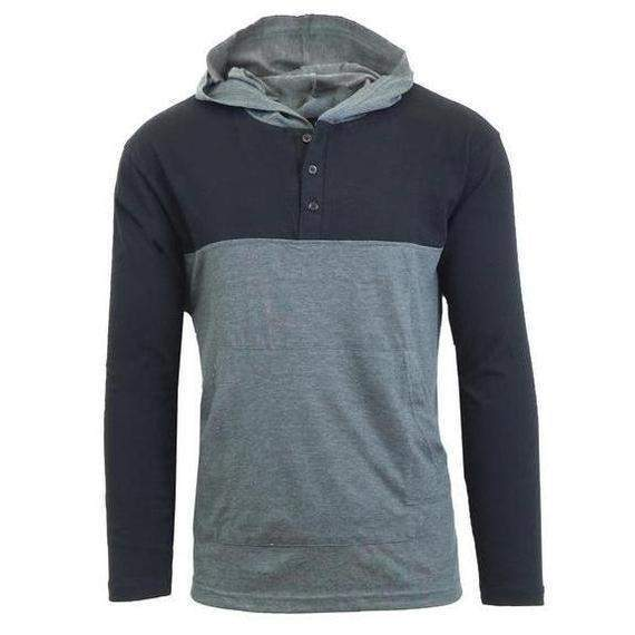 Daily Steals-Men s Lightweight Long-Sleeve Pullover Hoodie with Dual  Kangaroo Pockets-Long 14c66bd55
