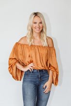 Load image into Gallery viewer, Cold Shoulder Babe Blouse