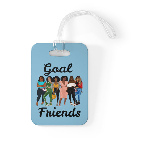 Goal Friends Bag Tag (Baby Blue)