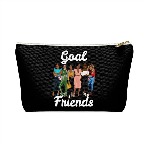 Goal Friends Accessory Pouch w T-bottom (Black)